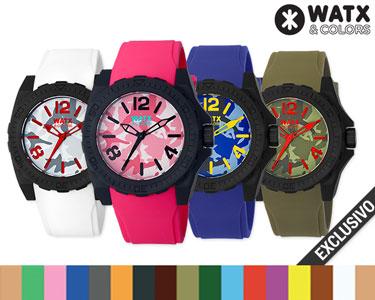 Relógio Watx & Colors® Unisexo | Escolha o Seu