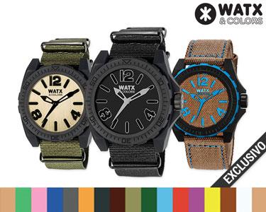 Relógio Watx & Colors® Para Ele | Escolha o Seu