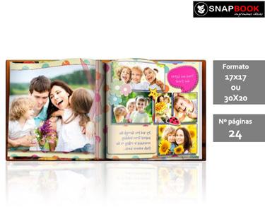 Álbum Fotográfico 24 Pág. | Capa Dura Personalizável 17x17 ou 30x20