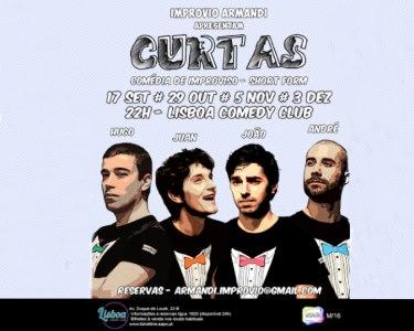 Improvio Armandi «Curtas» - Comédia de Improviso | Lisboa Comedy Club