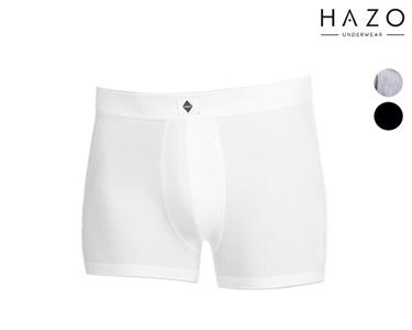 Pack 6 ou 12 Boxers Hazo® | Branco, Cinza e Preto