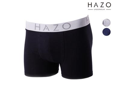 Pack 6 ou 12 Boxers Hazo® | Preto, Cinza e Marinho