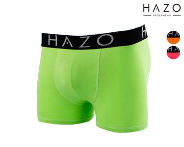Pack 6 ou 12 Boxers Hazo® | Laranja, Rosa e Verde