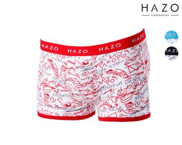 Pack 6 ou 12 Boxers Hazo® | Azul, Preto e Vermelho