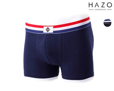 Pack 6 ou 12 Boxers Hazo® | Preto e Marinho