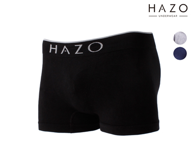 Pack 6 ou 12 Boxers Hazo®    Preto, Marinho e Cinza
