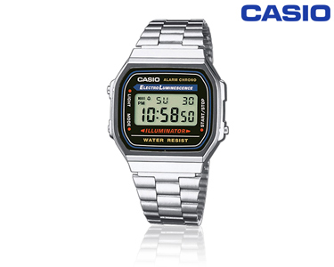 Relógio Casio® Retro Prateado