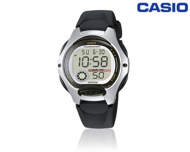 Relógio Casio® Sport Preto & Prateado