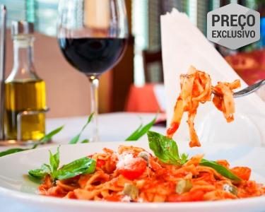 Romântica Itália! Jantar Completo & Bebidas para Dois | Algés