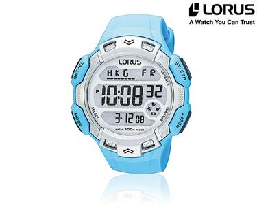 Relógio Lorus® Sport | Azul Claro