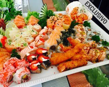 Honorato Sushi | 48 Peças & Sangria de Espumante a Dois | Exclusivo!