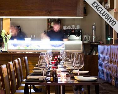 Honorato Sushi | Jantar Romântico de Sushi à la Carte para Dois