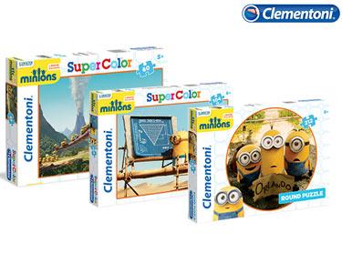 3 Puzzles dos Minions 60 + 104 + 212 Peças   Clementoni®