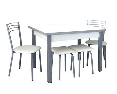 Mesa de Jantar Extensível c/ 2 Cadeiras e 2 Bancos | Cores à Escolha