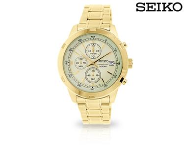 Relógio Seiko® Dourado | Modelo SKS426P1