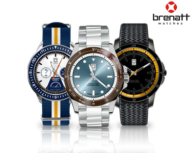 Relógio Brenatt Homem | Modelos à Escolha