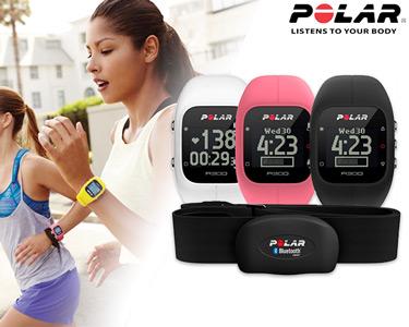 Relógio Polar® Multifunções com Frequência Cardíaca