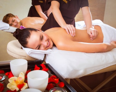 O Prazer do Calor... Massagem Relax Corpo Inteiro c/ Óleos Quentes a 2