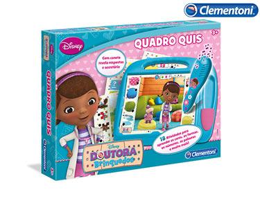 Quadro Quiz Doutora Brinquedos   Clementoni®