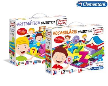 Conjunto Aritmética Divertida + Vocabulário Divertido | Clementoni®
