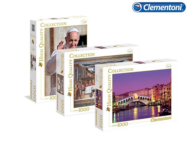 3 Puzzles HQ 1000 Peças | Clementoni®