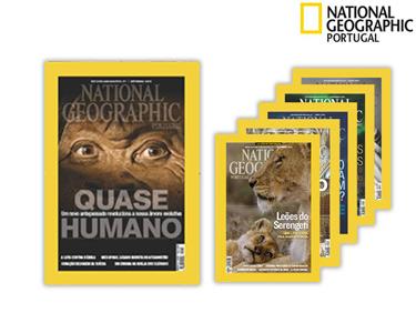 12 Revistas National Geographic + 3 Edições de Ciência de Oferta