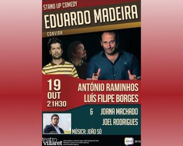 «Eduardo Madeira Convida...» Raminhos e Luis Filipe Borges | 19 Outubro | Villaret