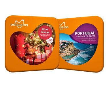 2 Presentes: Boas Festas + Portugal a Metade do Preço