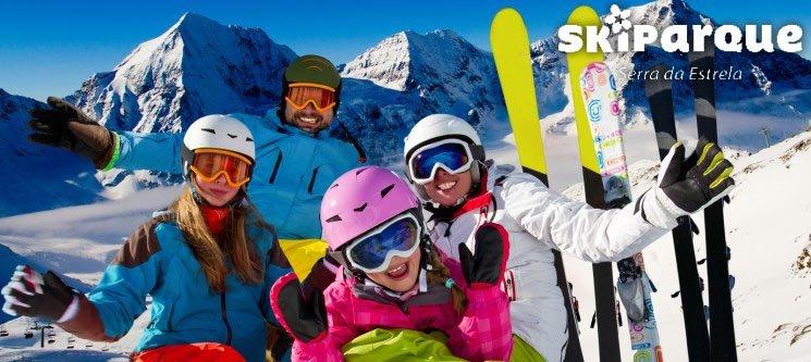 Skiparque na Serra da Estrela | 2 Nts + Ski ou Snowboard + Aula c/ Monitor