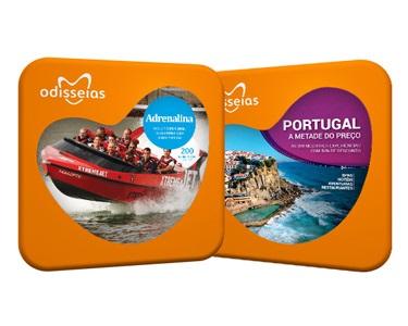 2 Presentes: Adrenalina + Portugal a Metade do Preço