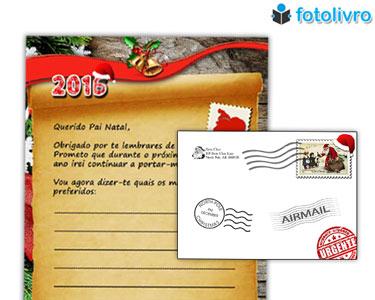 Carta do Pai Natal Personalizada | Um Presente Cheio de Magia