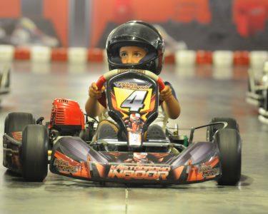 Experiência Kart Indoor Kids! 1 ou 2 Crianças - Pódio Imediato