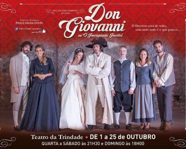 Elenco de Luxo | «Don Giovanni» no Teatro da Trindade