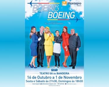 «Boeing Boeing» | Hilariante Comédia no Teatro Sá da Bandeira