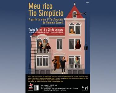 Estreia! «Meu Rico Tio Simplício» | Comédia no Teatro Turim