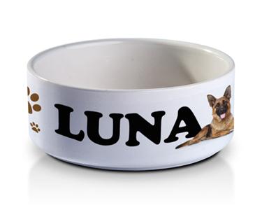 Taça Personalizada para o seu Animal | Nome + Fotografia