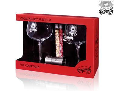 Cocktail Set Premium com 5 Acessórios