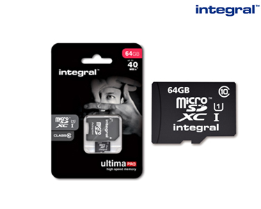 Micro SDXC Intregal | 8GB a 32GB
