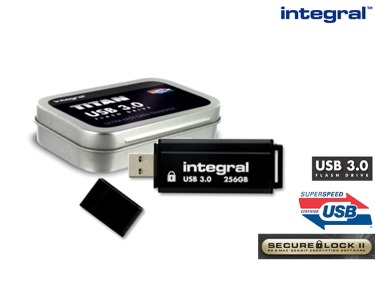 Pen USB Titan 3.0 Integral | 256GB