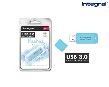 Pen USB 3.0 Integral Super Rápida | 8GB a 64GB