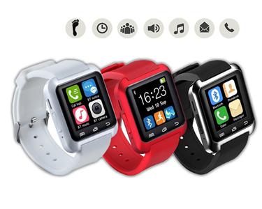 SmartWatch Bluetooth p/Smartphones | Chamadas, SMS e Notificações