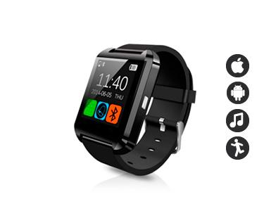 Relógio SmartWatch Bluetooth compatível com Smartphones
