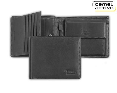 Carteira Camel Active® Preto | Porta Cartões,  Notas e Moedas