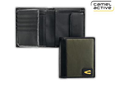 Carteira Camel Active® Verde | Porta Cartões, Notas e Moedas