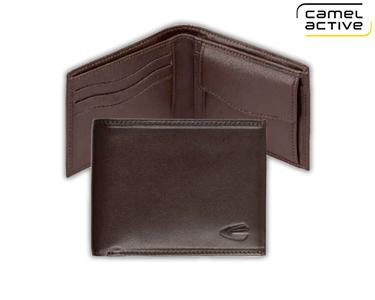 Carteira Camel Active® | 3 Porta Cartões, Notas e Moedas