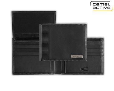 Carteira Camel Active® Preto | Porta Cartõe e Moedas
