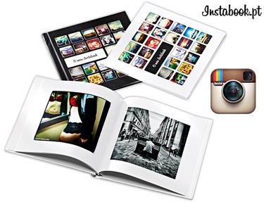 Foto Livro de Recordações Instagram