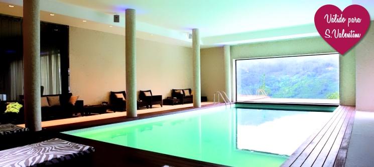 Dia dos Namorados no Gerês! 2 Nts c/ SPA & Jantar no Aquafalls Nature Hotel 5*