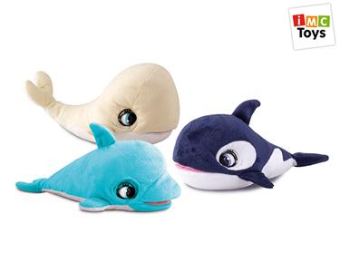 Conjunto de Peluches Marinhos | Golfinho, Orca & Baleia