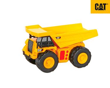 Veículos Construção 15 cm Luz e Sons | Camião CAT®